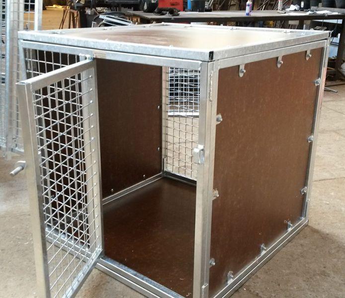 cage aluminium pour chien